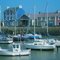 Aberaeron fishing village