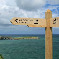 Wales Coastal Path - marked trail around entire coast